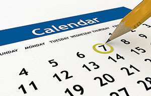 North Shore Health Facility Calendar